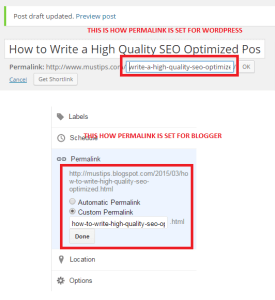 High Quality SEO Optimized Post