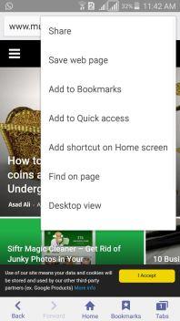 Desktop Version Internet Browser Android