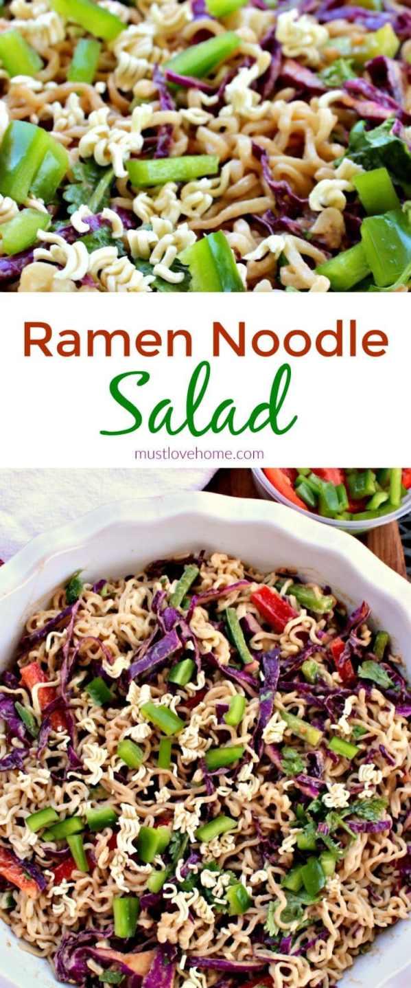 noodle coleslaw ramen recipes mix Noodle is Honey a crunchy of Salad cool, ramen Pepper Ramen