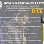 RCCG fasting 2016 DAY 20