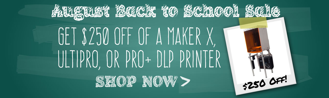 August 2015 Back to School Sale