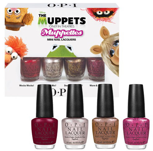 OPI The Muppets mini set