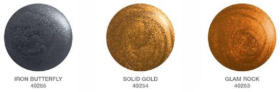 Orly's Metal Chic Matte Polish Color Palette
