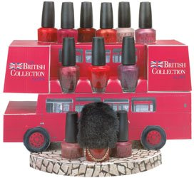 OPI British collection 2003