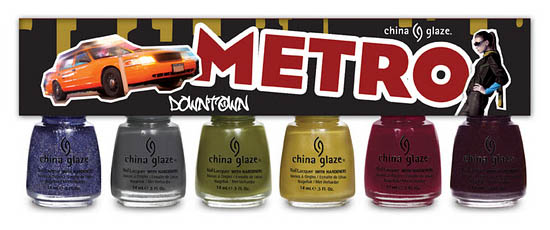 China Glaze Nail Polish Metro Downtown