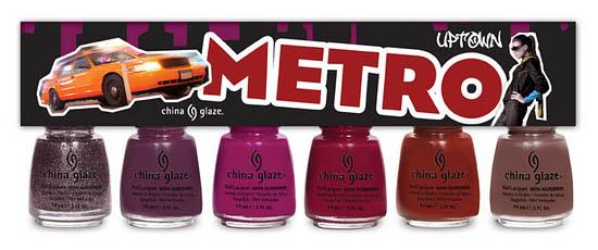 China Glaze Nail Polish Metro Collection
