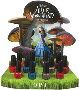 OPI Alice in Winderland 2010