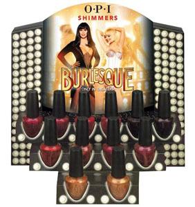 OPI Burlesque collection 2010