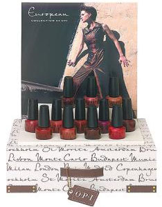 OPI European collection 2002