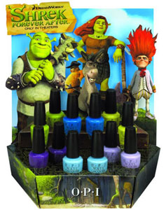 OPI Shrek Forever After 2010