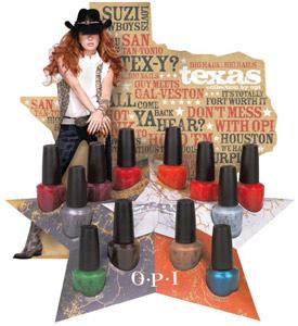 OPI Texas nail polish collection 2011