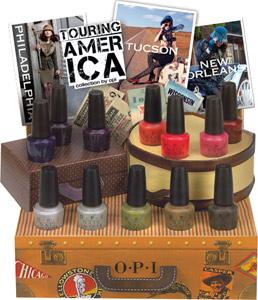 OPI Touring America nail polish 2011