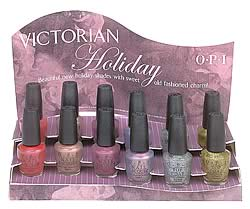 OPI Victorian Holiday collection 2002