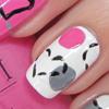 Pink Girly Nail Art
