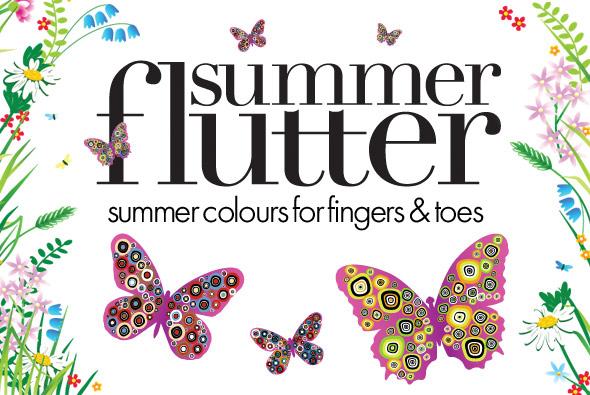 OPI Summer Flutter 2010 nail polish