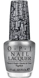 OPI Silver Shatter top coat