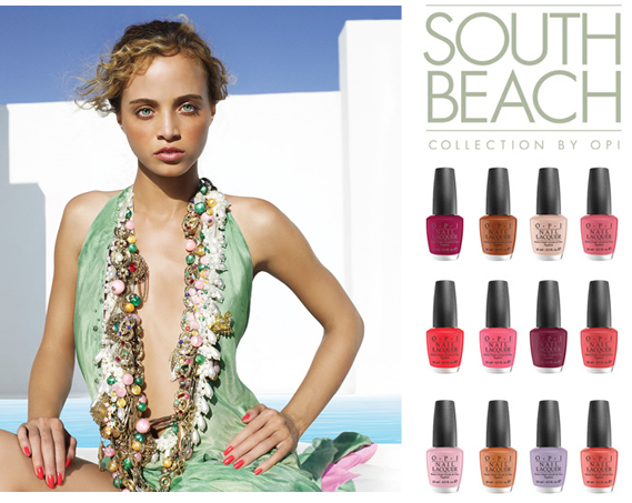 OPI collection spring summer 2009