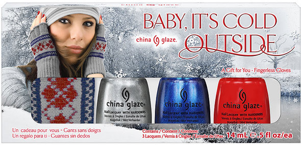 China Glaze Let It Snow Baby It's Cold Outside