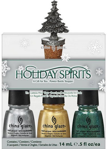 China Glaze Let It Snow Holiday Spirits