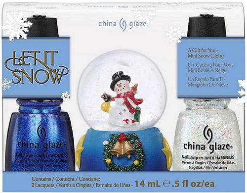 China Glaze Let It Snow Set