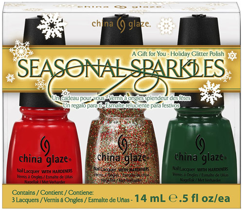 China Glaze Let It Snow Seasonal Sparkles