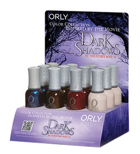 Dark Shadows display Orly