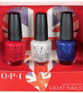 OPI great britain nails