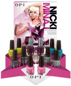 OPI Nicki Minaj spring 2012