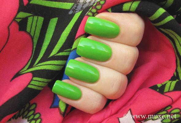 Orly Fresh - green nail polish swatch