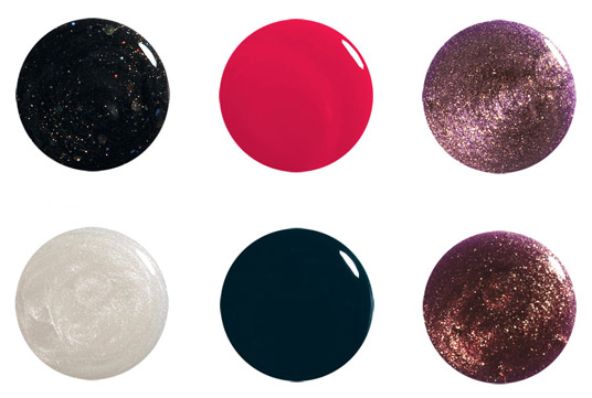 Holiday Soiree palette