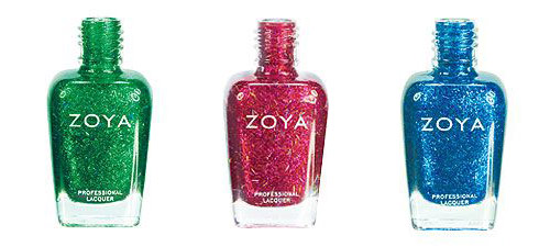 Gems and Jewels Holiday 2011 Zoya bar glitters