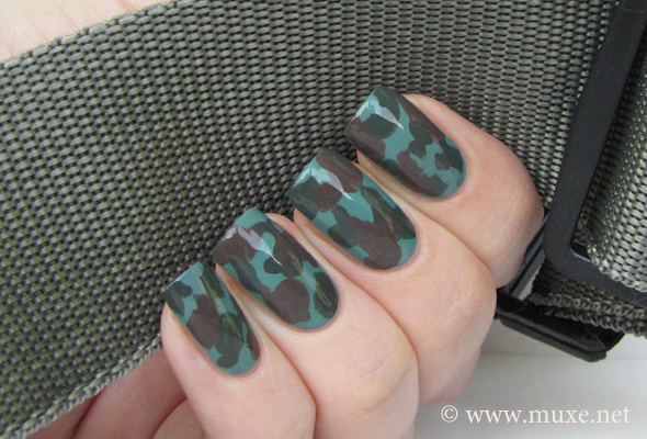 Camo Nails Design Maris Nail Polish Blog