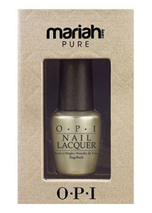 OPI Pure 18k White Gold & Silver Top Coat Mariah Carey 2013