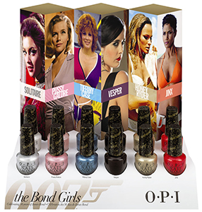 OPI The Bond Girls collection Summer 2013