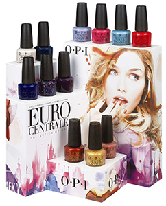 OPI Euro Centrale display 2013