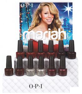 OPI Mariah Carey Holiday 2013