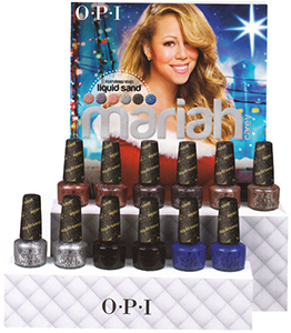 OPI Mariah Carey Holiday Liquid Sands 2013