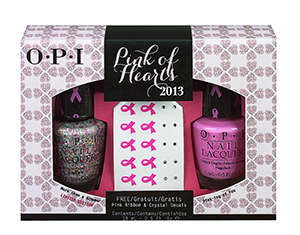OPI Pink of Hearts 2013 set