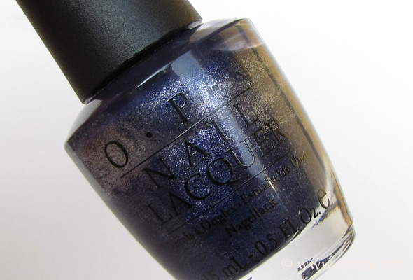 OPI Ink Suede polish bottle