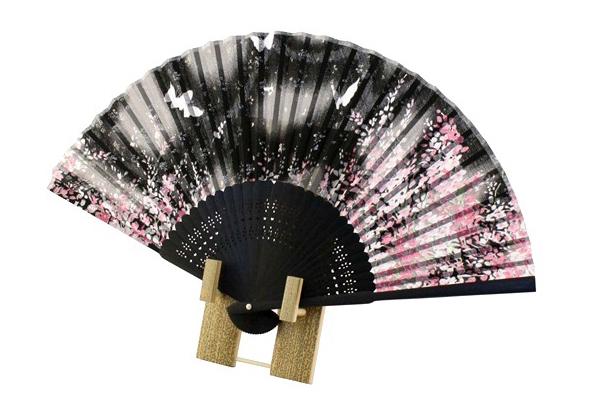 Sakura folding fan