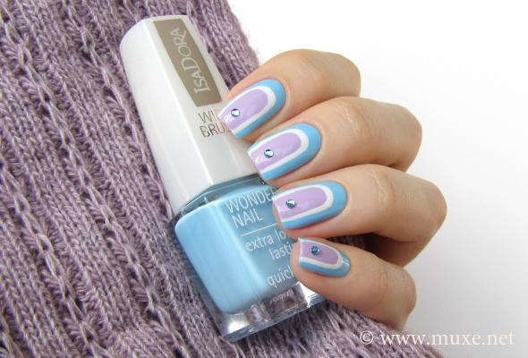 IsaDora Baby Blue 624 polish