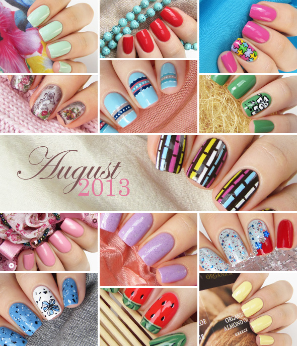 August 2013 nail designs