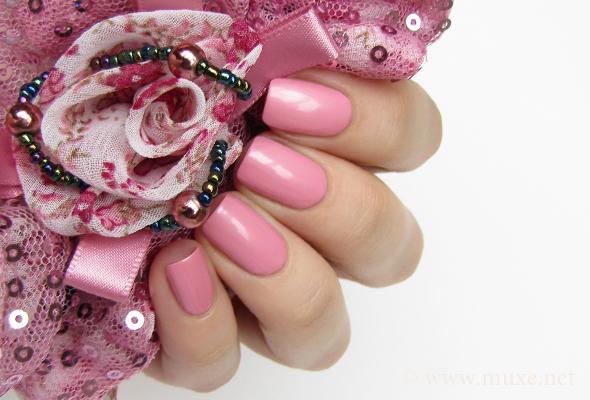 OPI pink nail polish shimmer