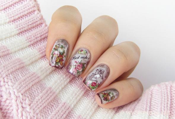 Vintage nails design