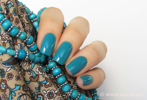 OPI Fly teal nail polish