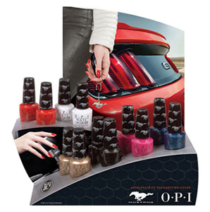 OPI Ford Mustang Summer 2014
