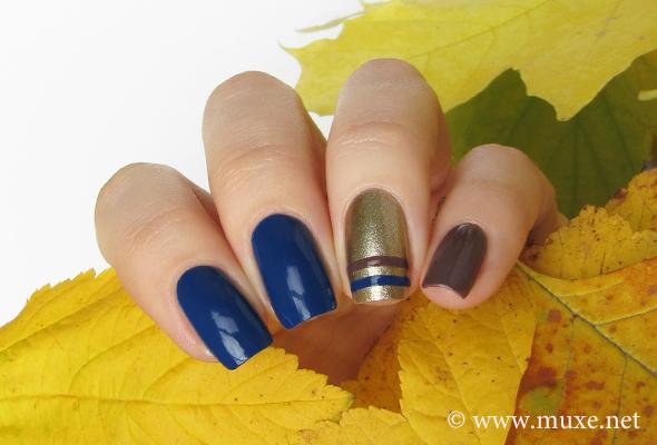 OPI Keeping Suzi at Bay blue nail polish F57