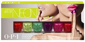 OPI Neons Summer 2014