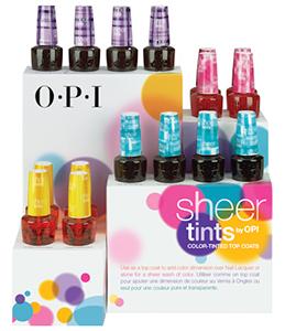 OPI Sheer Tints 2014