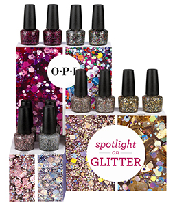 OPI Spotlight on Glitter collection 2014